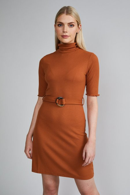Native Youth THE RUBY DRESS - Rust