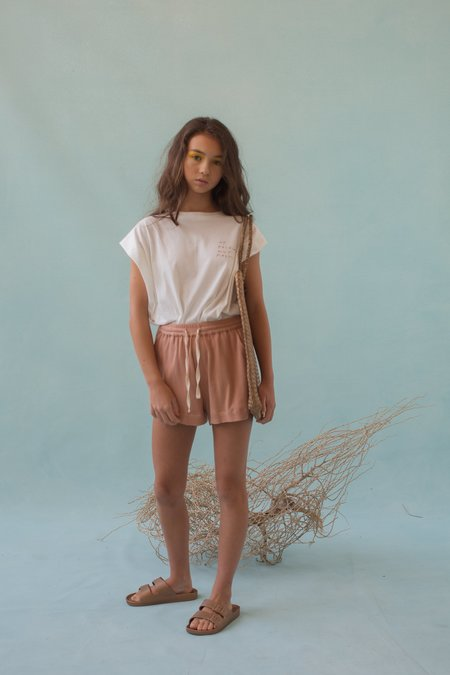 KIDS Feather Drum FLARED TEE - AIN'T FAST