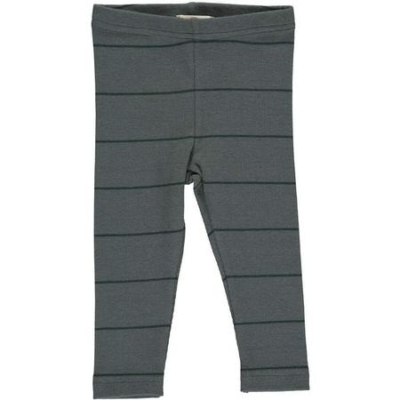 kids marmar copenhagen leggings - dark leaf stripe
