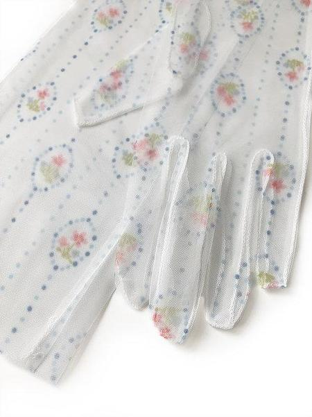 Sophie Cull-Candy Eunis Gloves - White