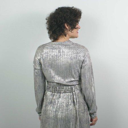 Allison Wonderland Tennille Top - Silver