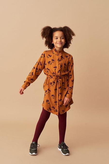 Kids Soft Gallery Electa Dress - Berries/Inca Gold
