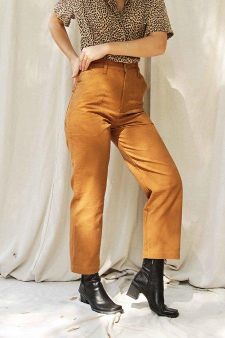 Lykke Wuulf Montana Painter Pant - Honey