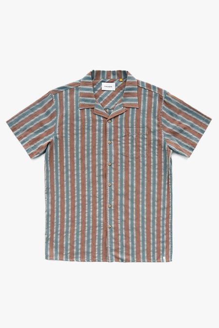 critical slide society Release Short Sleeve Shirt - Rust