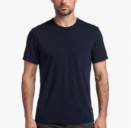 James Perse Men's Short Sleeve Pocket Tee - Deep
