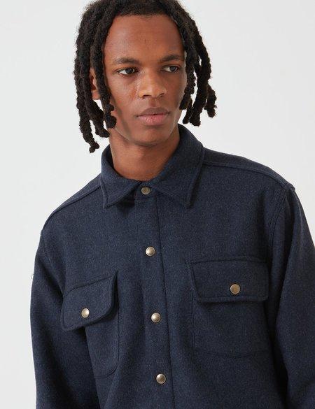 Bleu De Paname Bucheron Shirt - BDP Blue