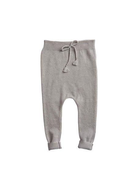 kids belle enfant footless leggings - cloud grey
