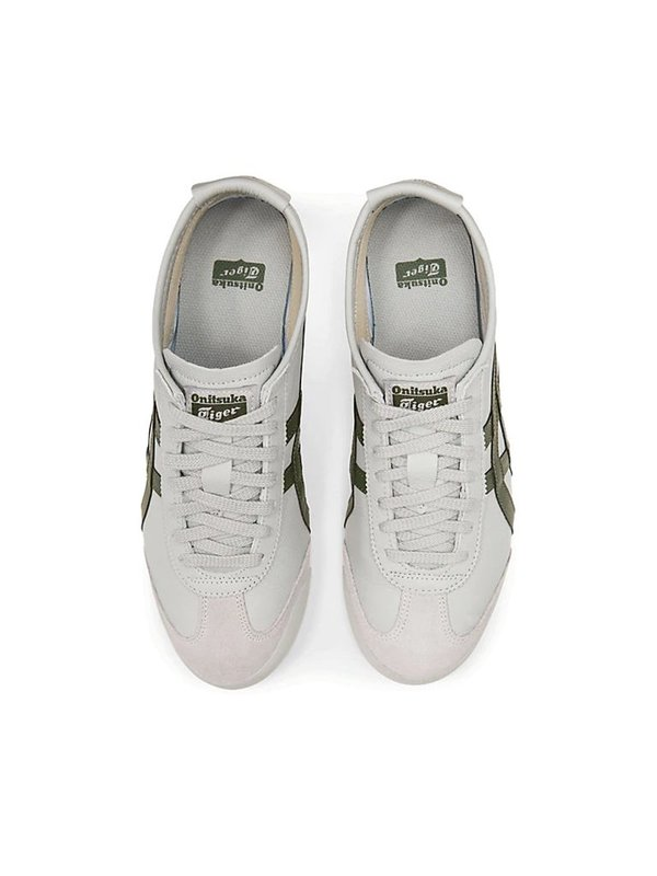 Onitsuka Tiger Mexico 66 Sneakers - Mid Grey/Pine Tree