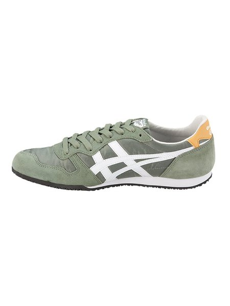 Onitsuka Tiger Serrano Sneakers - Burnt Olive/White