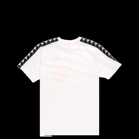KAPPA 222 Banda Charlton Short Sleeve T-Shirt - White