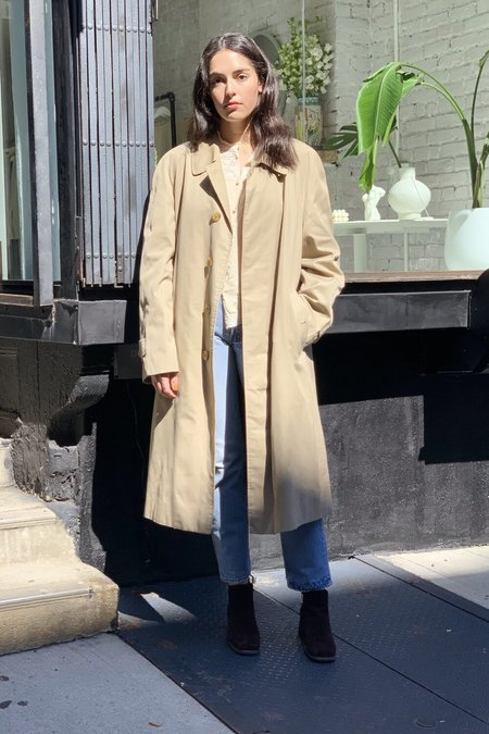 VINTAGE BURBERRY'S DUSTER