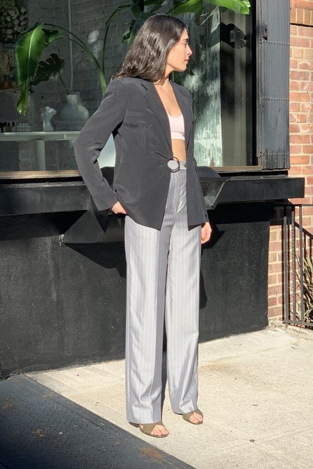 VINTAGE SAKS FIFTH AVE PINSTRIPE TROUSERS