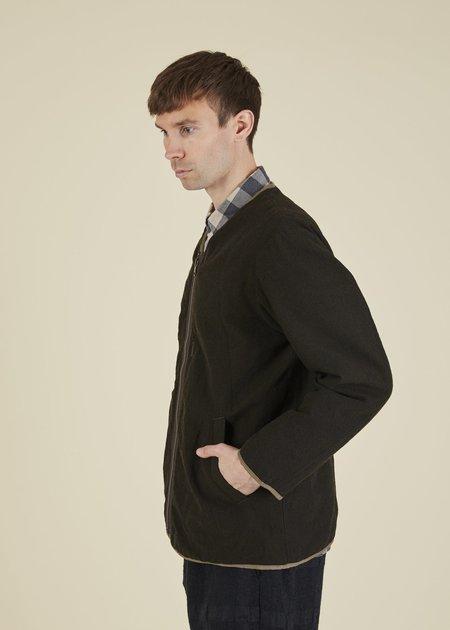 Sage de Cret Reversible Liner Jacket - Dark Olive
