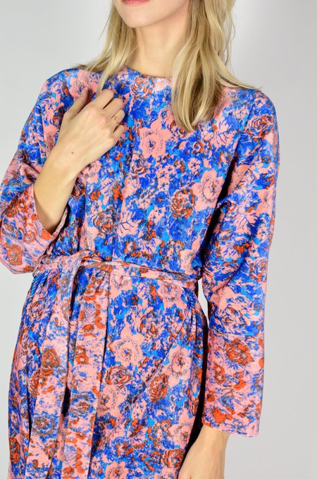 Anntian Easy Dress - Floral Panel Print P