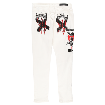 Embellish Dead Heavens Rip and Repair Jeans