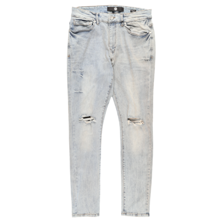 Jordan Craig Distressed Denim Jeans - Studio Blue