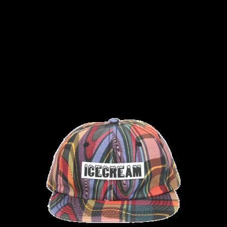 IceCream Drip Hat - Plaid
