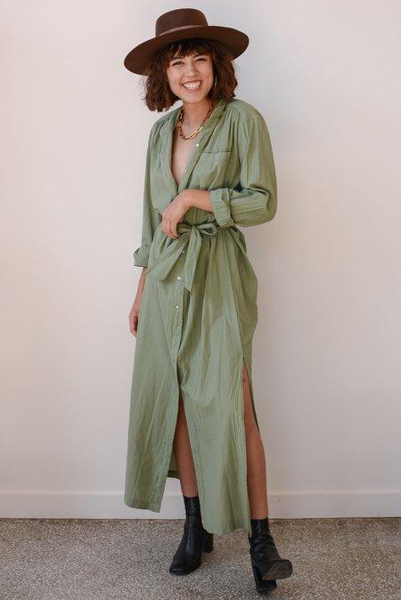 Cali Dreaming Shirt Dress - Army