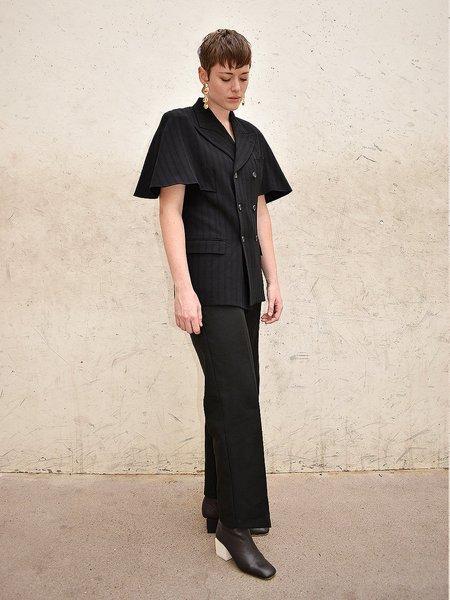 Noons Vintage Rei Kawakubo Short Cape Sleeve Blazer - Black