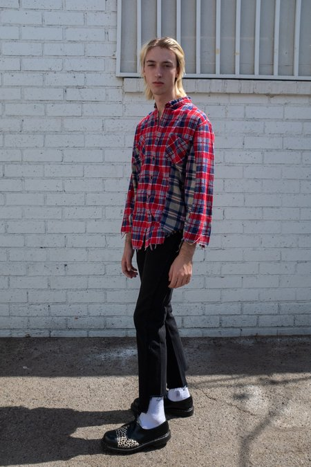 Old Park Two Tone Flannel Shirt
