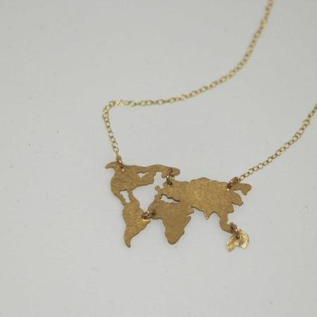Oh So Antsy The World Necklace