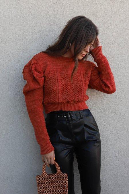 Tach Begonia Sweater - Rust