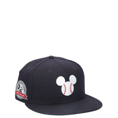 New Era Mickey Mouse Baseball Fitted Hat - Navy
