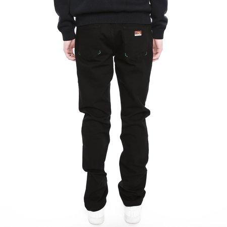 Kenzo Neon Band Slim Fit Jeans - Black