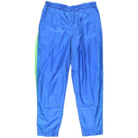 Comme des Garçons Nylon Taffeta Pants - Blue/Green