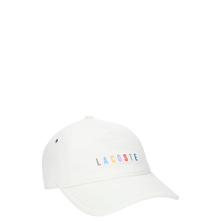 Lacoste Rainbow Logo Cap - Flour