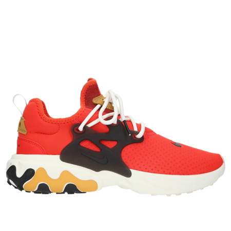 Nike React Presto Sneaker - Habanero Red/Black