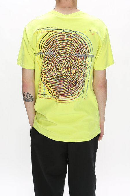 Indvlst Registration T-Shirt - Neon