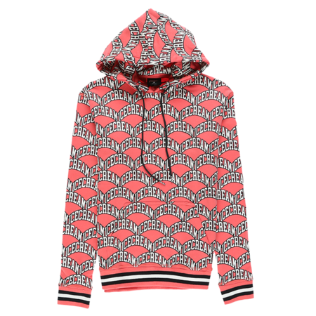 IceCream Scoop Hoodie - Deep Sea Coral