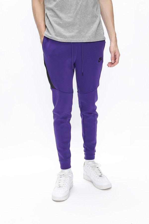Nike Tech Fleece Jogger - Court Purple/Black on Garmentory