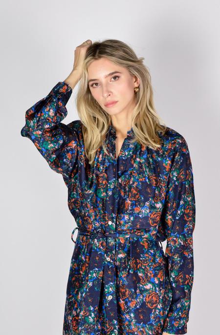 Anntian Shirt Dress - Print M