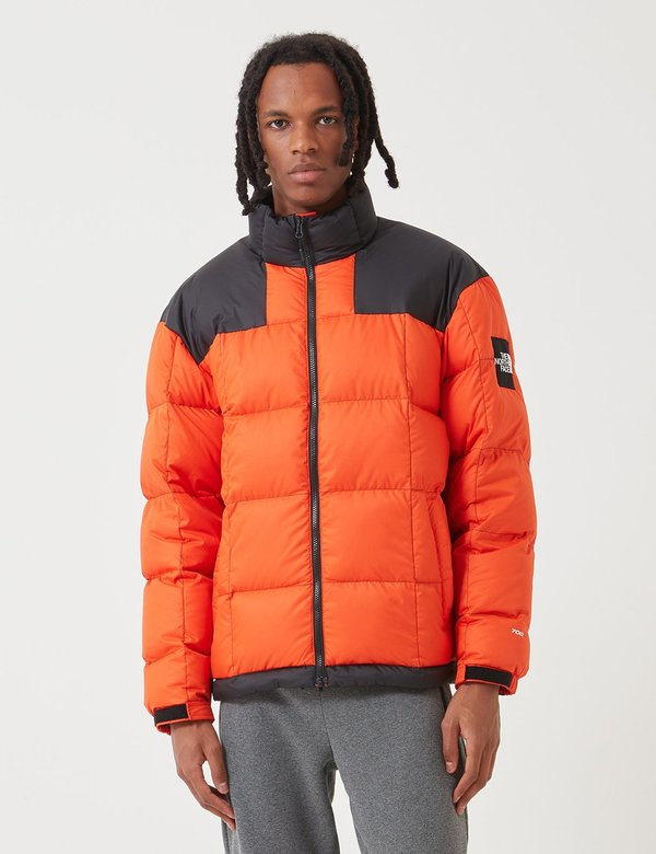 Leonardoda consonante vendere  The North Face Black Label Lhotse Down Jacket - Tangerine Tango | Garmentory