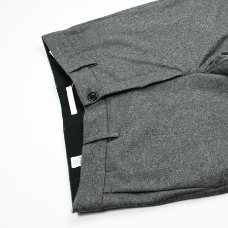 Norse Projects Aros Wool Trousers - Charcoal Melange