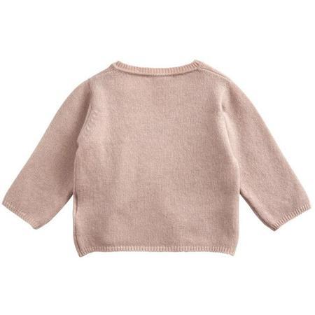 kids belle enfant wrap top - rose
