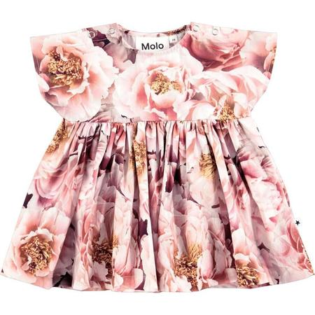 kids molo channi peonies dress