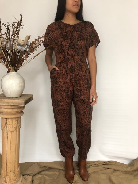 Dagg & Stacey SULLIVAN JUMPSUIT - COPPER