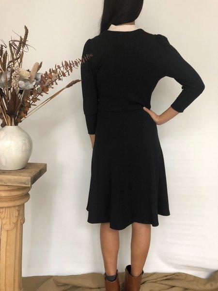 Dagg & Stacey AUDEN DRESS - NOIR