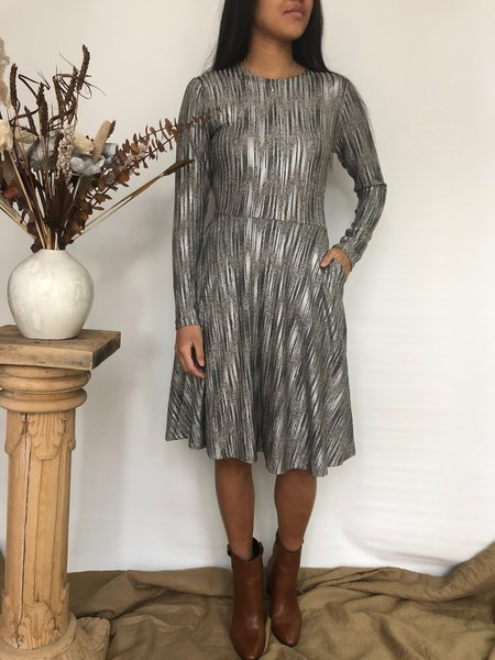 Dagg & Stacey EUGENE DRESS - PEWTER