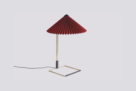 Matin Large Table Lamp - Oxide Red