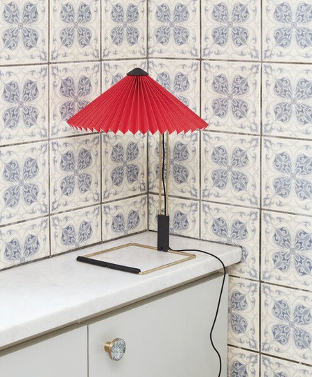 Matin Small Table Lamp - Red