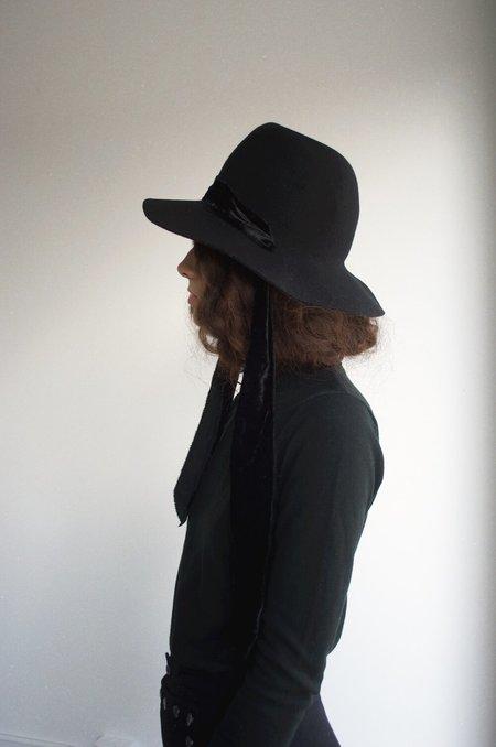 Brookes Boswell Gobo Wool Felt Hat - Black