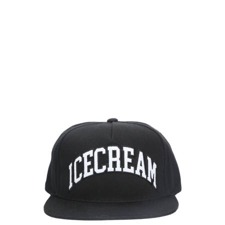 IceCream Snapback Hat - Black