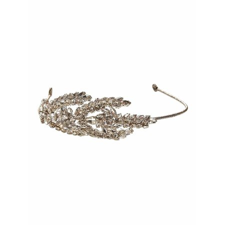 kids tutu du monde sophia headband - silver