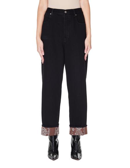 Golden Goose Cotton Jeans - Black