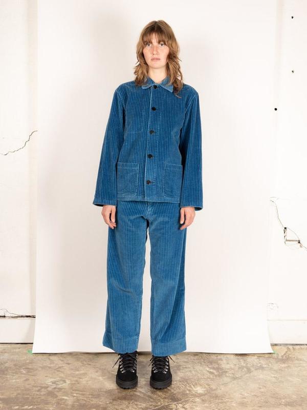 Caron callahan krasner jacket - true indigo