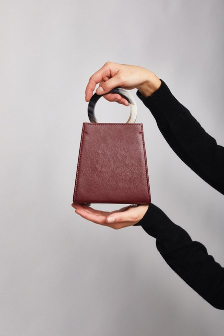 ADRIANA CASTRO Azza Mini Bag - Burgundy